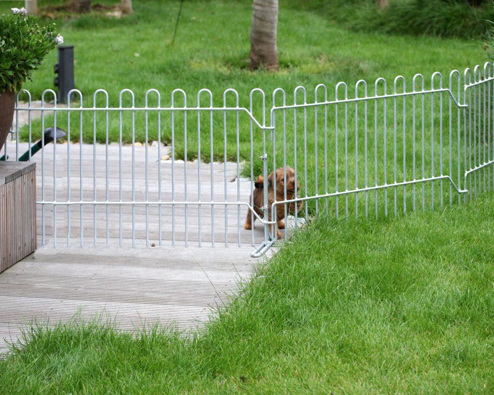 Nett Hund Zaun Ideen Beschichteten Draht Bilder - Schaltplan Serie ...