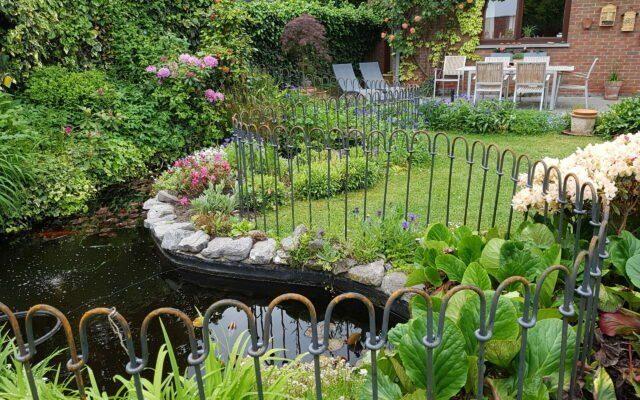 Protection de l'étang de notre jardin