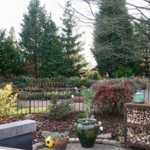 clôture de l'étang Melabel® près de Liège