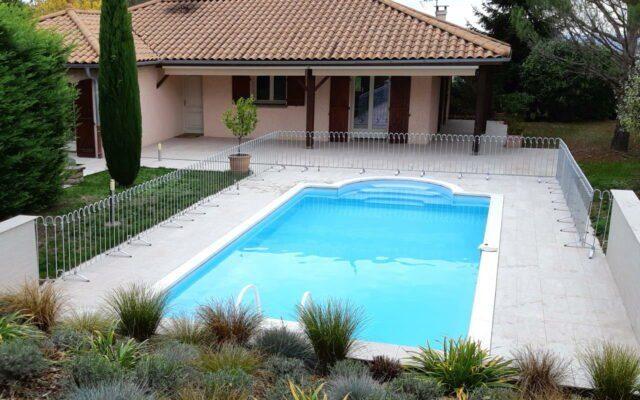 Clôture de piscine mobile