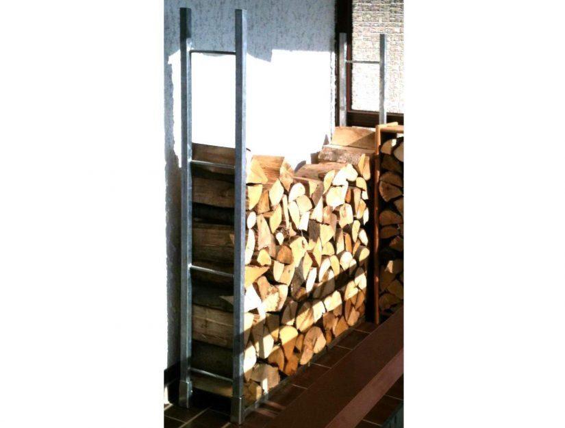 Die Lösung um Brennholz einfach, stabil und sicher zu stapeln.