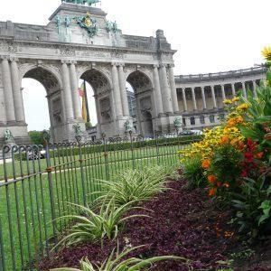 Triumphbogen im Jubelpark im Herzen von Brüssel