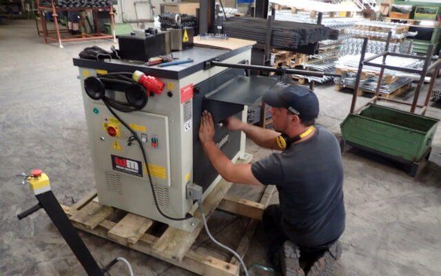 Neue Horizontalpresse zum Stahl biegen