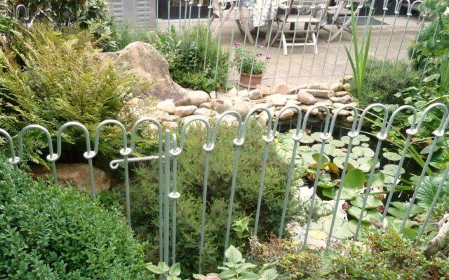 Kleinen Teich sicher für Kinder machen