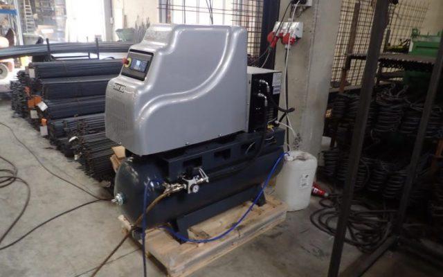 Unser Schraubenkompressor mit Trockner