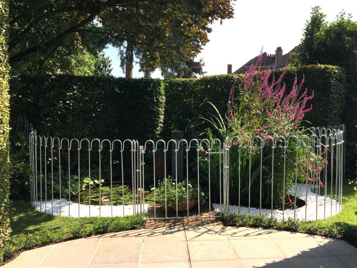 Comment Cloturer Son Jardin clôture étang light - melabel® clôtures