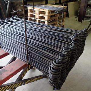 Pflanzstäbe SCHNECKE mit Hersteller-Bändchen