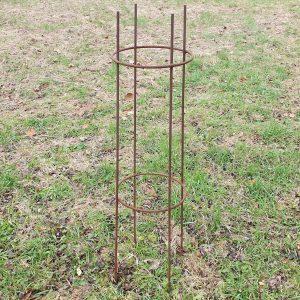 Restposten geschweißte Ranksäule aus Stahl für Ihre Pflanzen