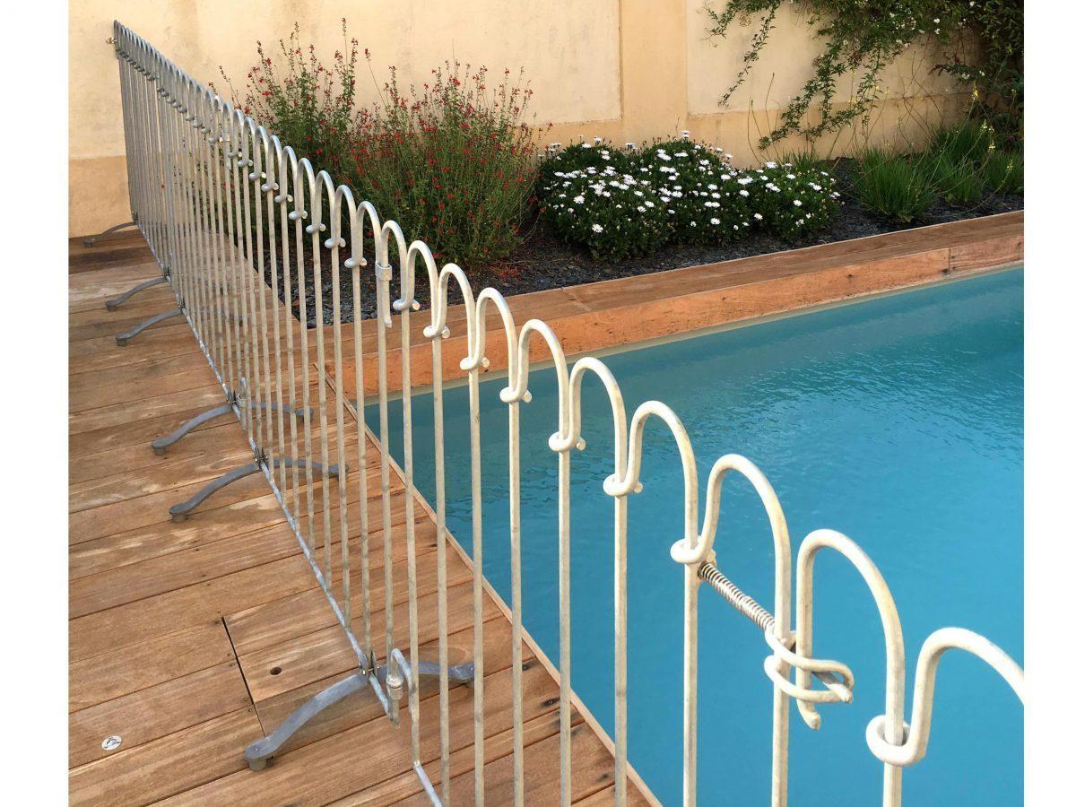Dalle De Protection Piscine barrière piscine poolfix - melabel® clôtures