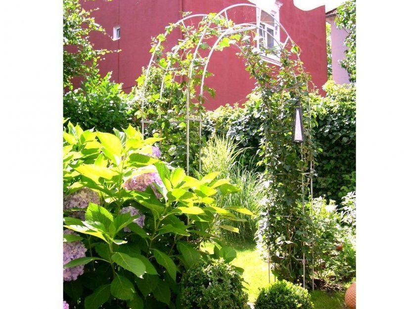 Stabiler Rosenbogen feuerverzinkt. Passt auch in Ihrem Garten.