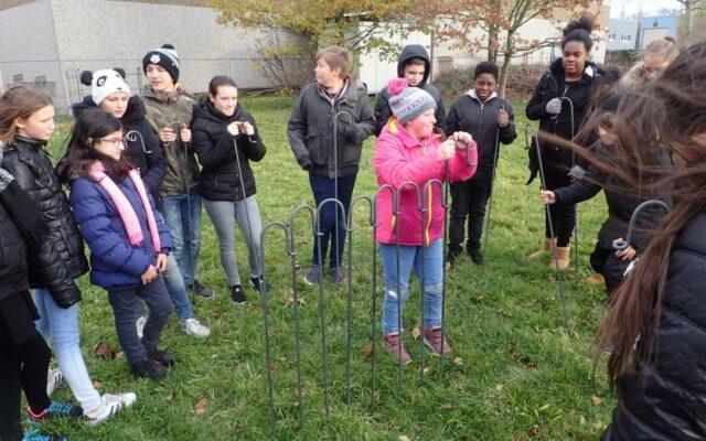 Schüler besuchen unsere Zaun-Fabrik