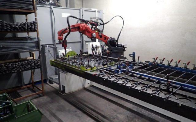Roboterschweißen: verschiedene Produkte die wir auf unserer Anlage schweißen