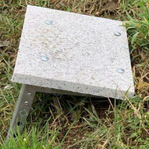 Es ist möglich einen anderen Belag wie Holz, Stein usw, auf den Stufen aufzuschrauben