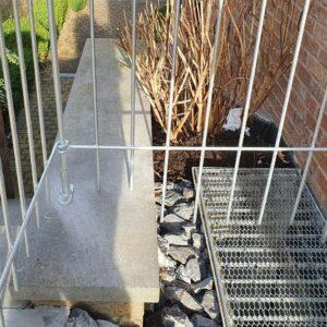 Le support à visser au sol pour terrasse galvanisé ne rouille pas.