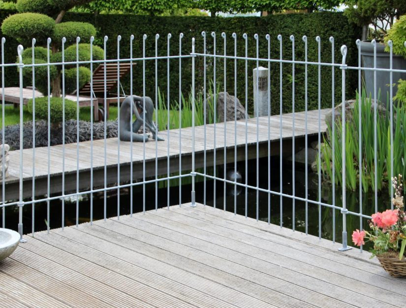 Möchten Sie den anneau-Zaun auf Ihrer Terrasse aufschrauben?