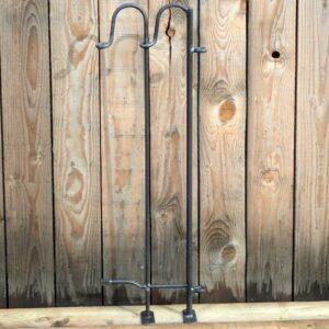 Terrassenelement 25 cm breit mit Scharnierpfosten