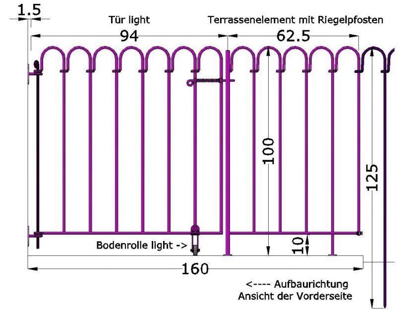 Mit einem Wandhalter-light können Sie den Teichzaun light an einer Wand oder einem Pfosten befestigen. Auf Wunsch liefern wir Ihnen auch einen gekürzten Endstab.