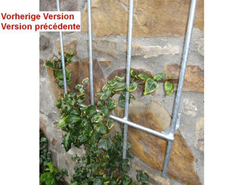 Nos treillis muraux sont très stables et peuvent longetemps supporter des plantes lourdes sur votre façade.
