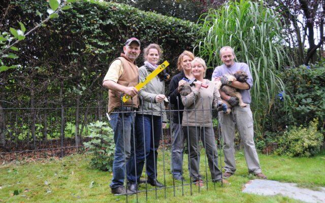 AUFBAU Gartenzaun anneau – Kundenerfahrungen – Montagezeiten
