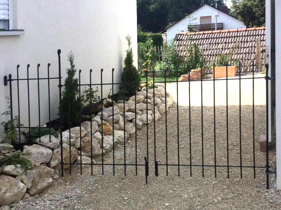 Der Zaun Ist Einfach Einzigartig Unikat Melabel Steckzaune